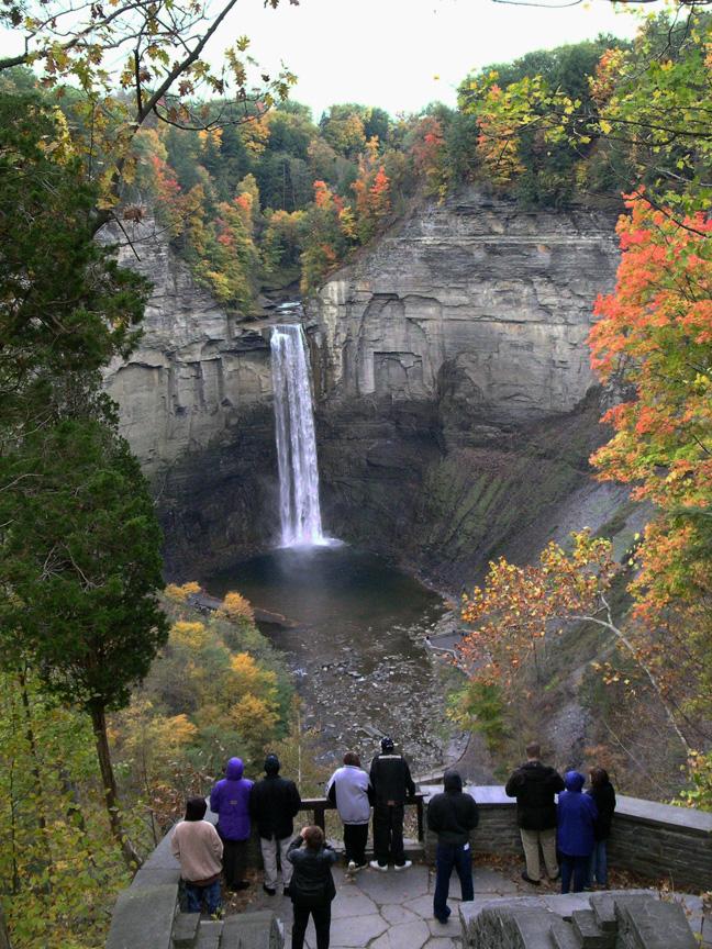 Taughannock Falls State Park Trumansburg NY Ithaca Cayuga Lake Finger Lakes
