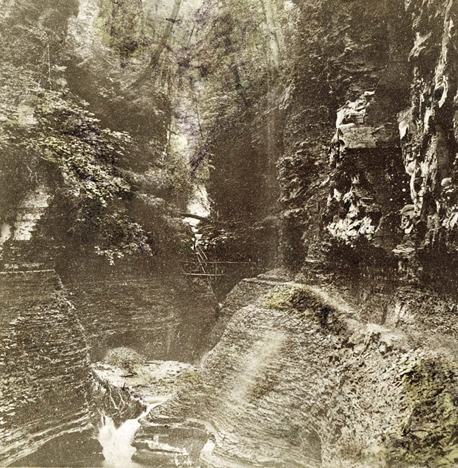 Watkins Glen State Park, historic photo