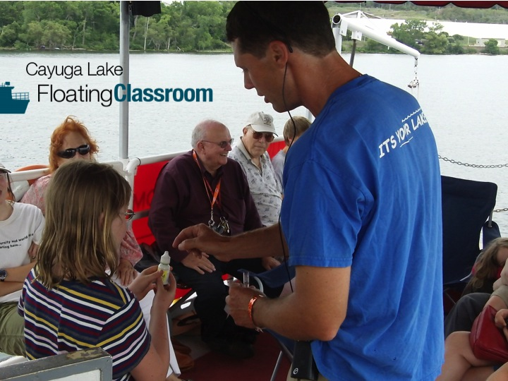 Cayuga Lake Floating Classroom public eco-tour