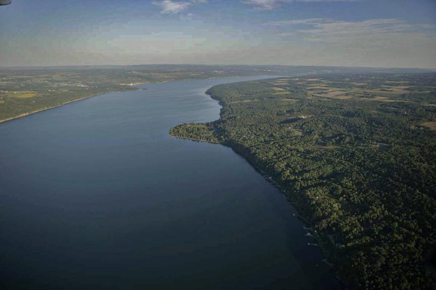 Cayuga Lake, Taughannock Falls State Park, Finger Lakes, Ithaca, NY