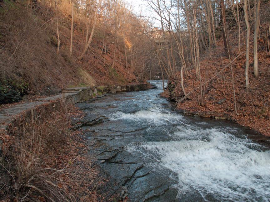 Cascadilla Gorge Trail Cornell Ithaca, NY