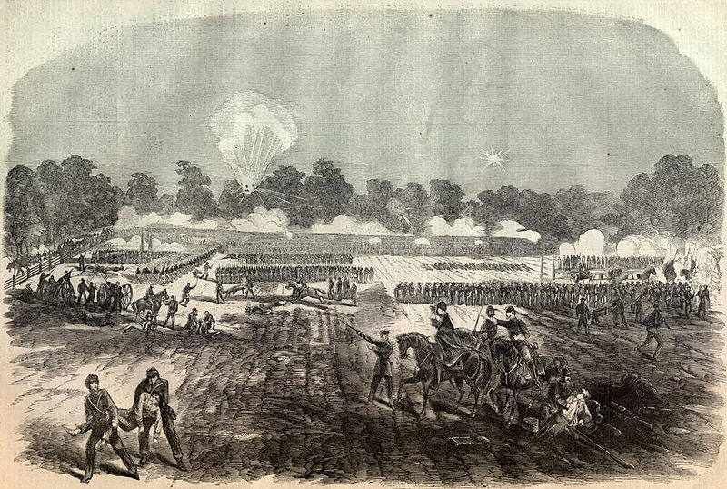 Civil War, Battle of Irish Bend, Louisiana, history