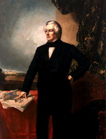 Official White House painting of President Millard Fillmore