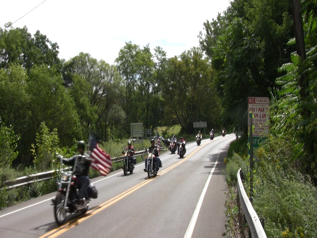 Cops, Kids, and Toys, Ithaca, NY, Cayuga Lake Scenic Byway, motorcycle ride