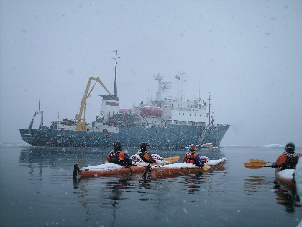 Louise Adie, Akademik Shokalskiy, Antarctica